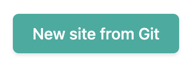 New Site from Git button