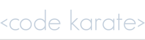 Code Karate First Logo