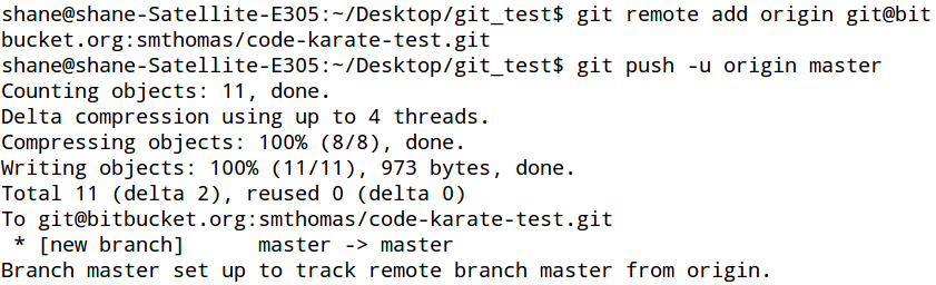 Git Add Remote