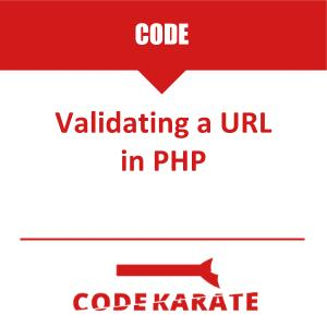 Validating a URL in PHP | Code Karate